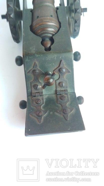 Старая бронзовая пушка, фото №7