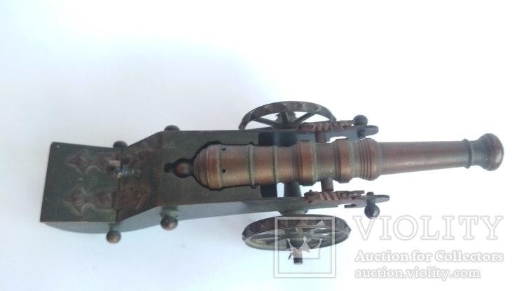 Старая бронзовая пушка, фото №8