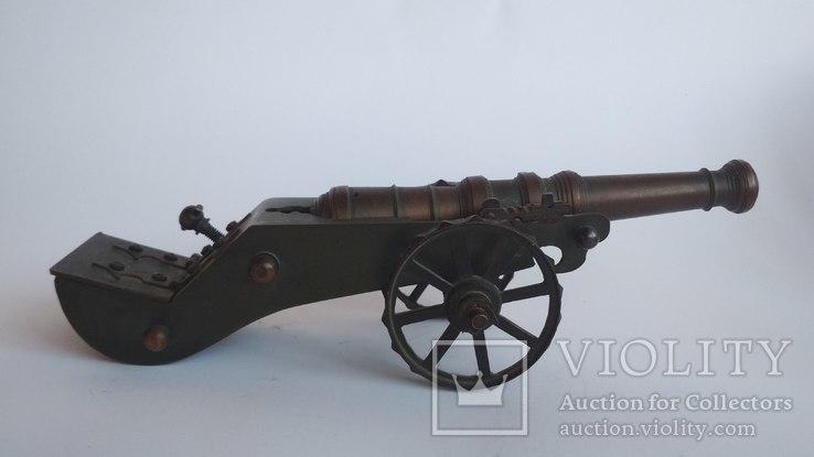 Старая бронзовая пушка, фото №9