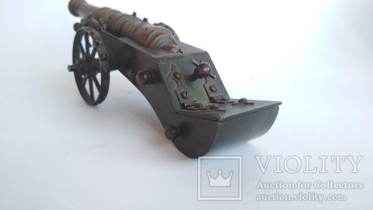 Старая бронзовая пушка, фото №12