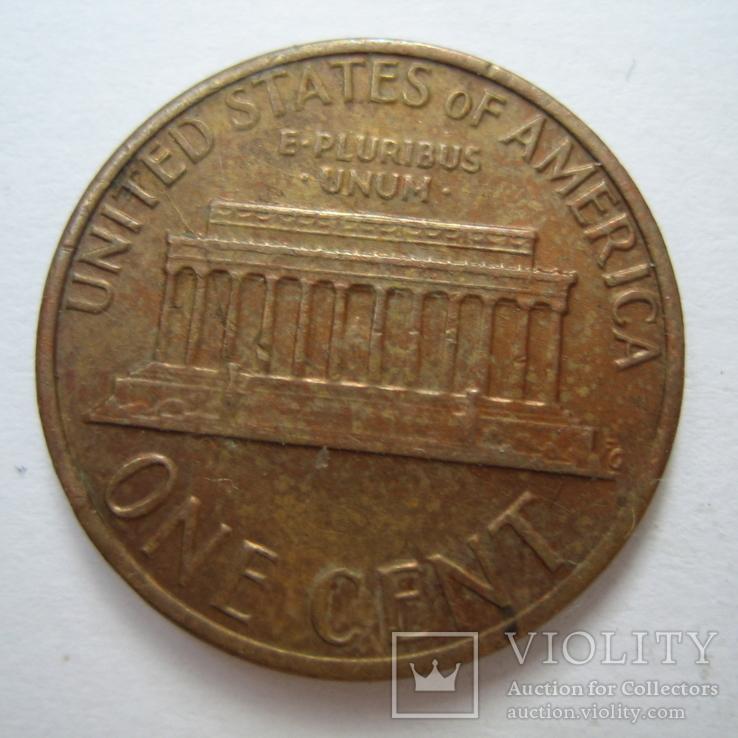 США 1 цент 1980 года., фото №7