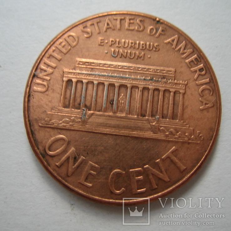 США 1 цент 2007 года.D., фото №5