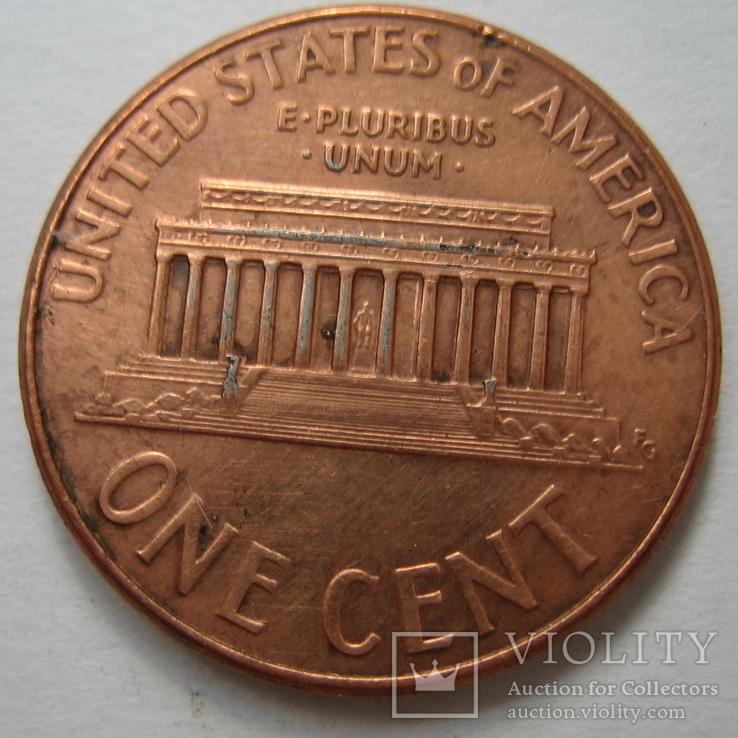 США 1 цент 2007 года.D., фото №6