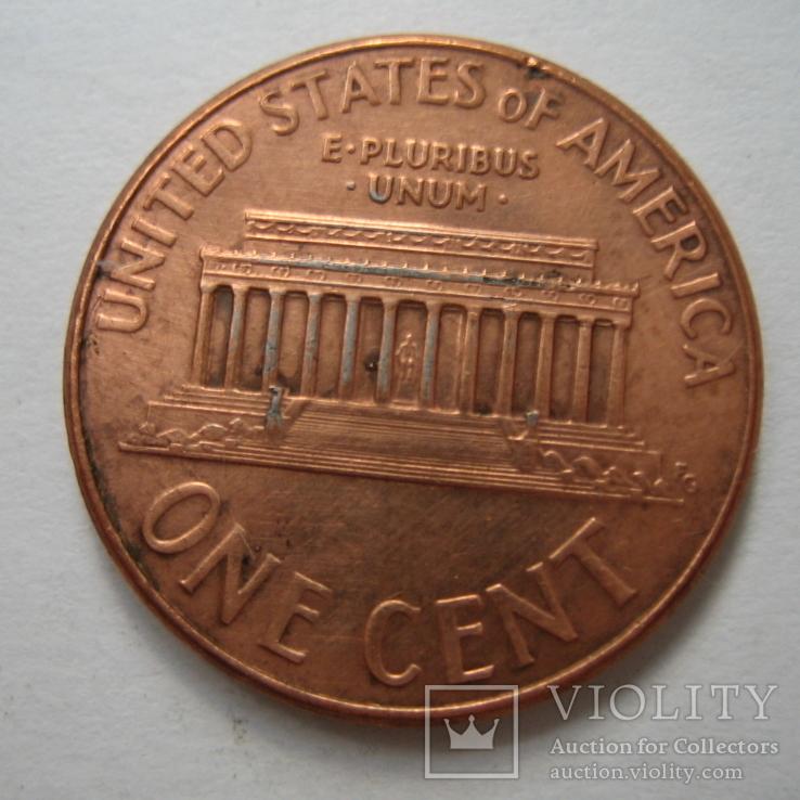 США 1 цент 2007 года.D., фото №7