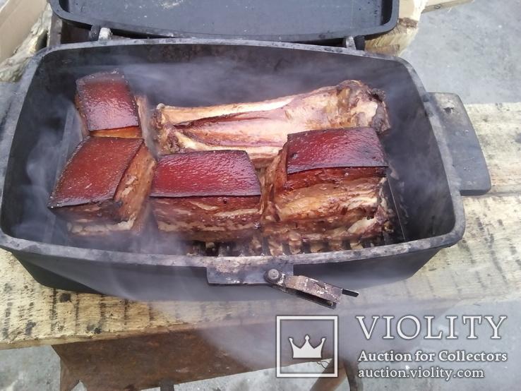 Пароварка для рыбы или мяса  алюминий, фото №3