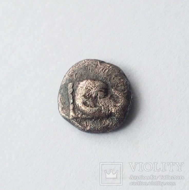 Гемиобол (серебро) Кария, г.Галикарнас, 480 - 450 гг.до н.э., фото №3