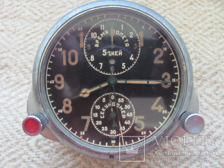 Часы с самолета АЧХ