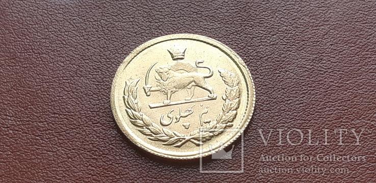 Золото Иран 1/2 пахлави, фото №8