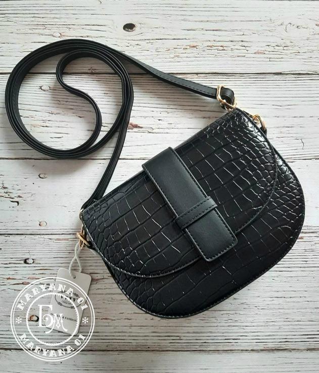Стильная сумка black кроссбоди / клатч