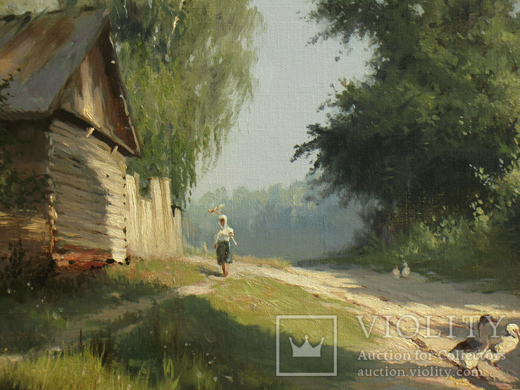 """""""Край села"""" Журка Ю., фото №9"""