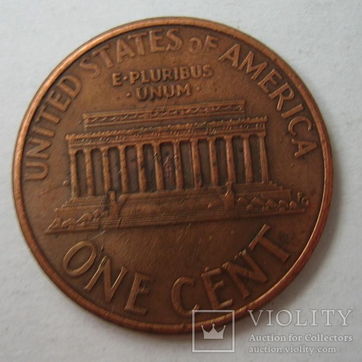 США 1 цент 1998 года.D, фото №8