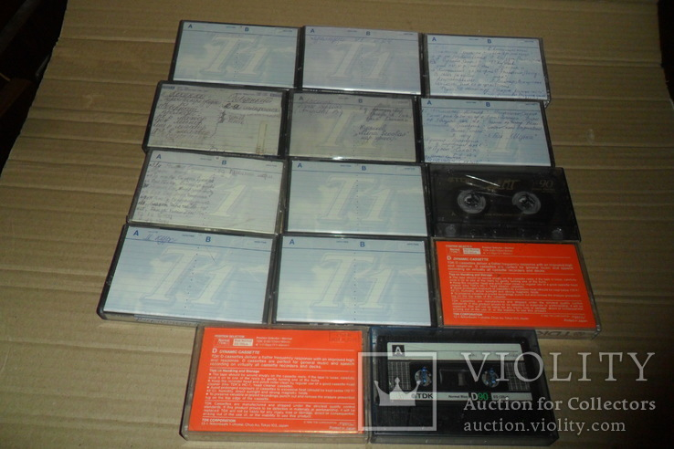 Аудиокассета кассета TDK - 14 шт в лоте, фото №3