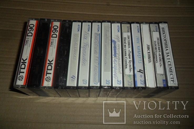 Аудиокассета кассета TDK - 14 шт в лоте, фото №4
