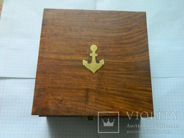 Компас морський, із сонячним годинником., фото №3