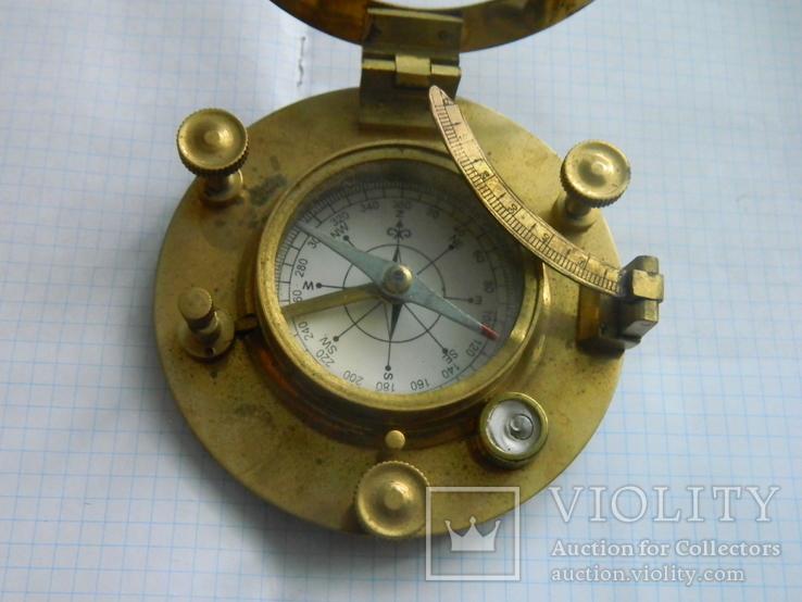 Компас морський, із сонячним годинником., фото №11