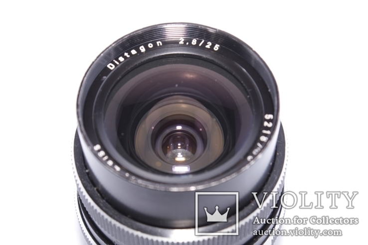 Carl Zeiss Distagon 2,8/25 ROLLEI QBM made in West Germany, фото №5
