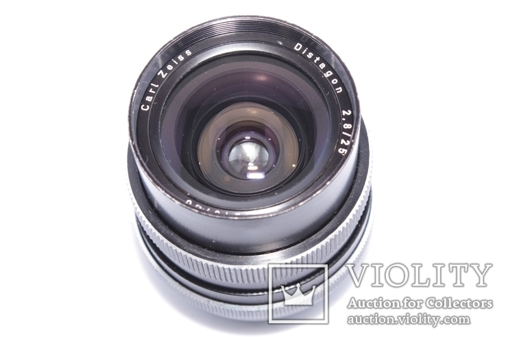 Carl Zeiss Distagon 2,8/25 ROLLEI QBM made in West Germany, фото №8