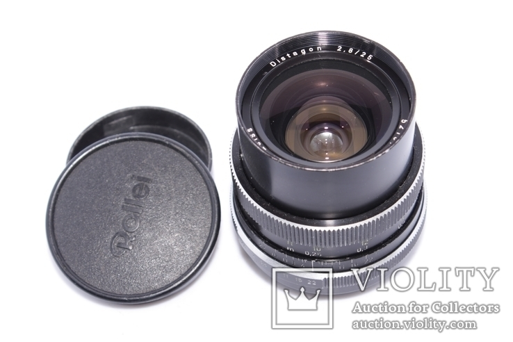 Carl Zeiss Distagon 2,8/25 ROLLEI QBM made in West Germany, фото №2