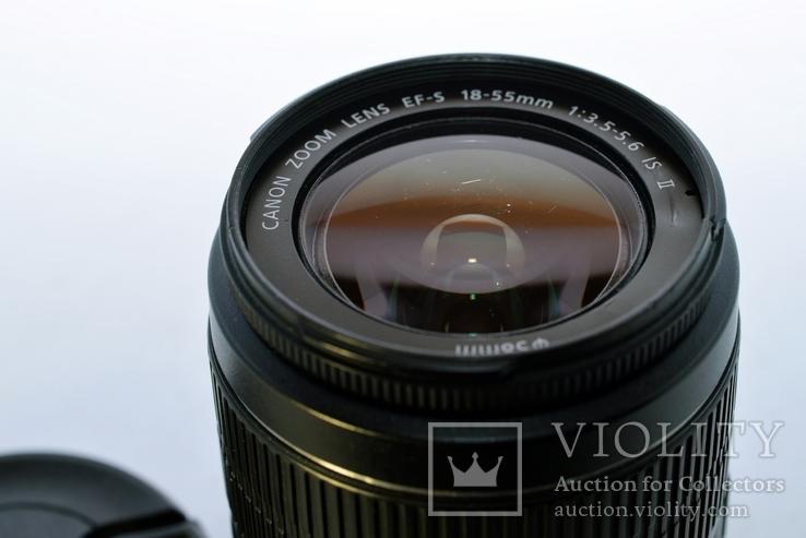 Canon EF-S 18-55mm f/3.5-5.6 IS II - є подряпини, фото №3