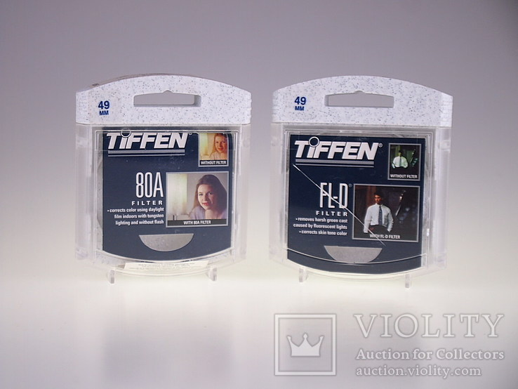 Фильтр Фильтры  Filter 49 mm 80 A FL - D TIFFEN USA, фото №5