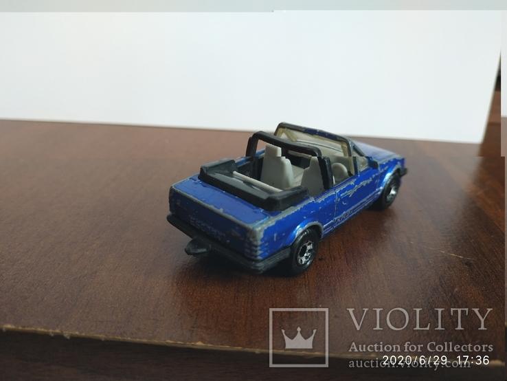 Ford escort cabriolet 85год, фото №3