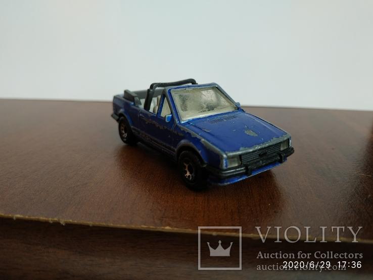 Ford escort cabriolet 85год, фото №4