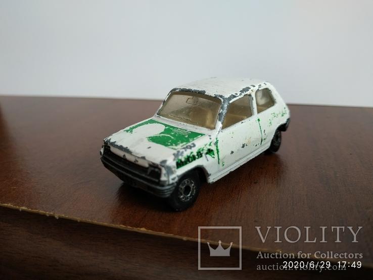 Renault 5tl Matchbox 78год, фото №2