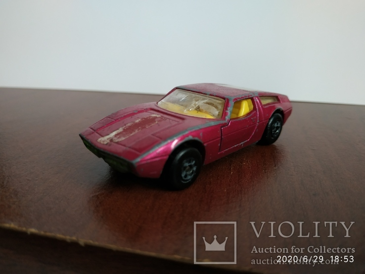 Maserati Bora Matchbox 72год, фото №2