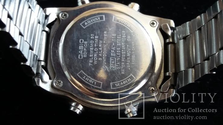 """Часы """"CASIO""""  EDIFICE, EFA-118, фото №10"""