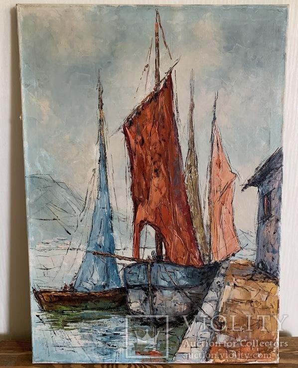 Картина «Корабли»
