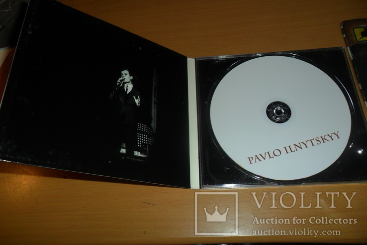 Диск CD сд Pavlo Ilnytskyy Павел Ильнитский, фото №5