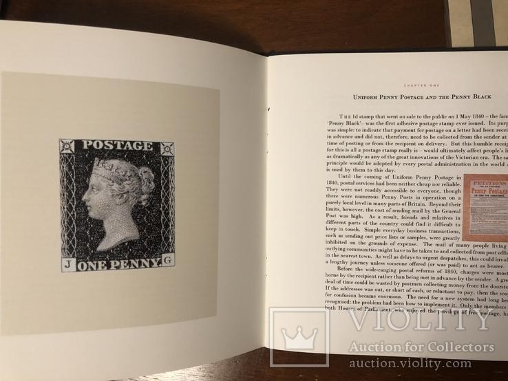 Первая марка мира. Чёрный пенни. 1840 год. С сертификатом и буклетом., фото №9