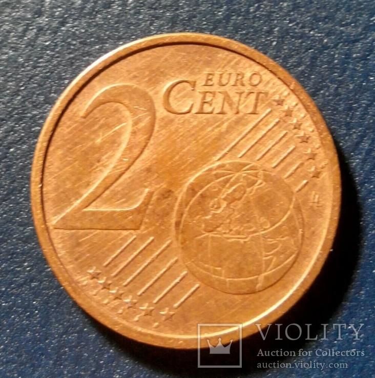 Германия 2 евро цента 2003 (F), фото №2