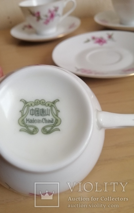 Чашки з блюдцем., фото №5