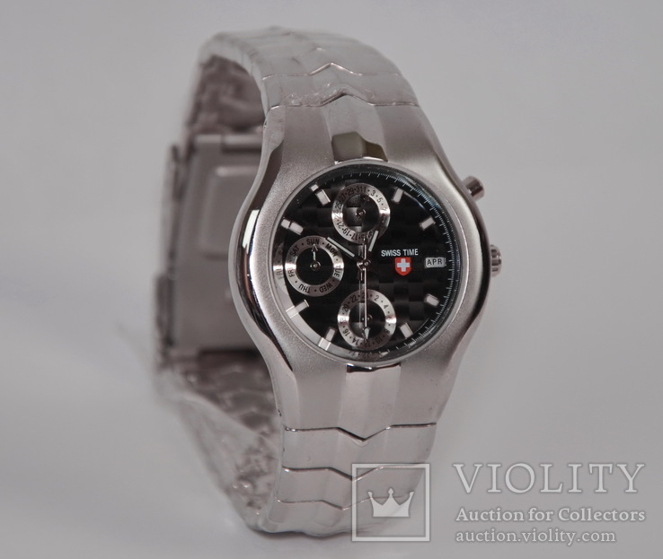 Новые часы Swiss Time. Механизм Miyota, фото №5