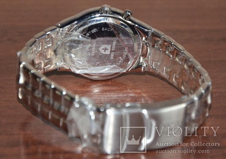Новые часы Swiss Time. Механизм Miyota, фото №8