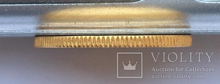Британська Індія Соверен 1918 року (І) Бомбей Золото 7,98 грам 917' проби, фото №5