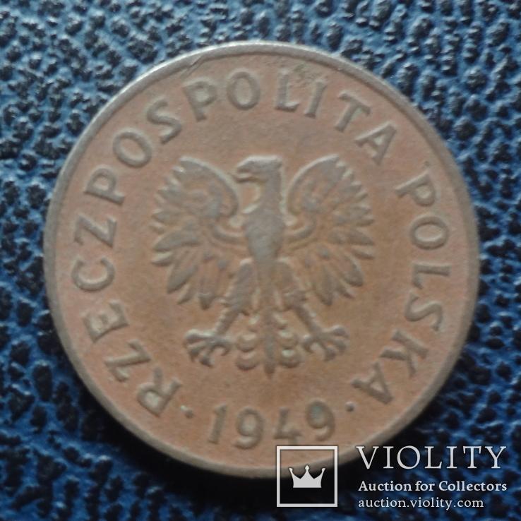 50  грошей 1949  Польша никель  ($11.2.20)~, фото №2
