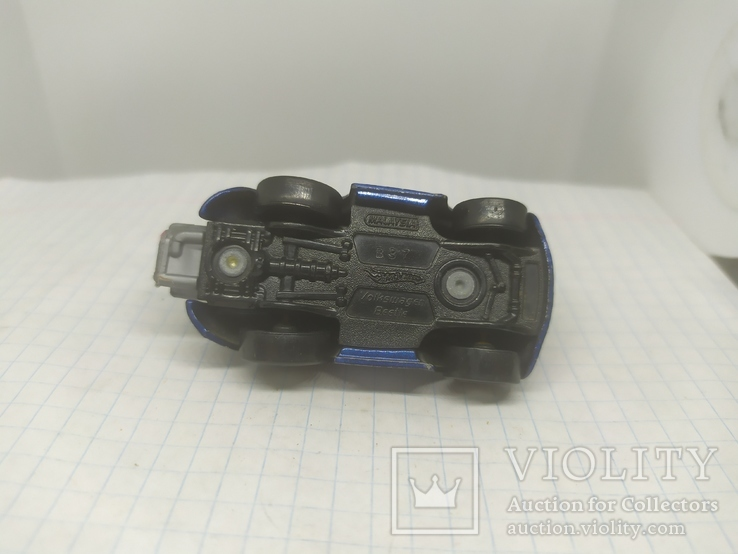 Машинка Hot Weels. Volkswagen Beetle, фото №7