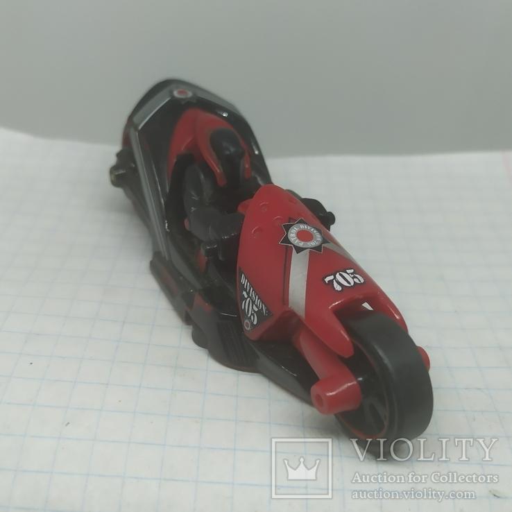 Мотоцикл Hot Weels. 2004, фото №3