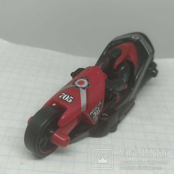 Мотоцикл Hot Weels. 2004, фото №4
