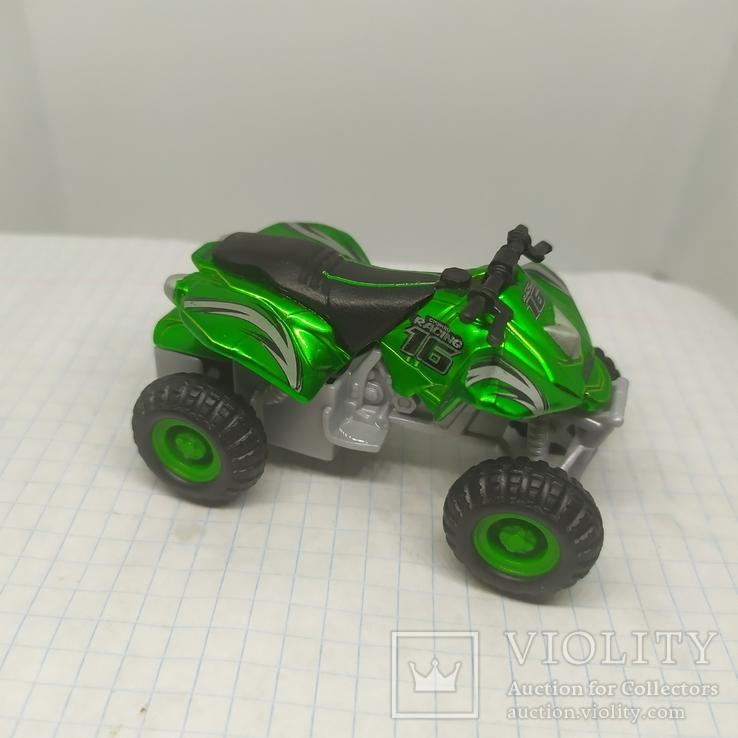 Машинка Квадроцикл Maisto, фото №2
