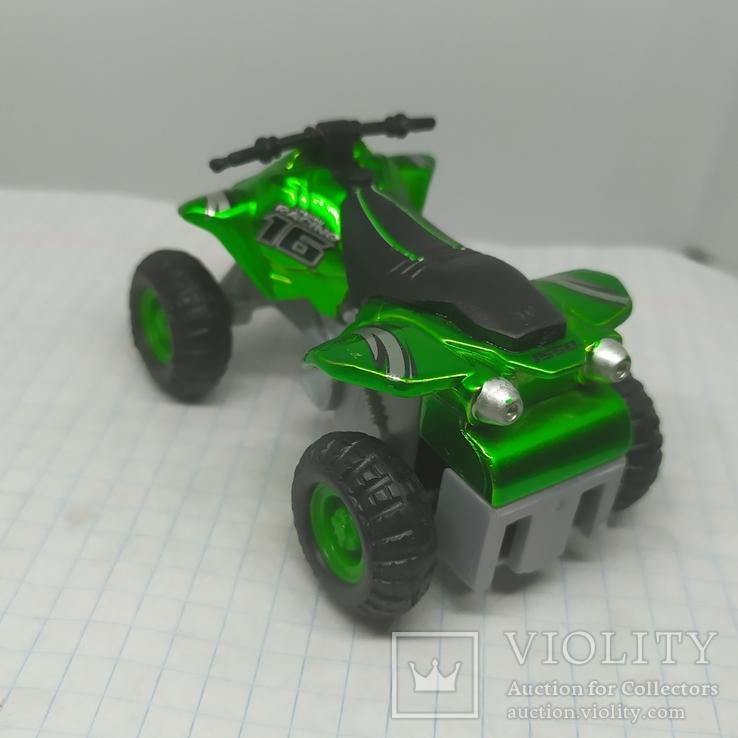 Машинка Квадроцикл Maisto, фото №6