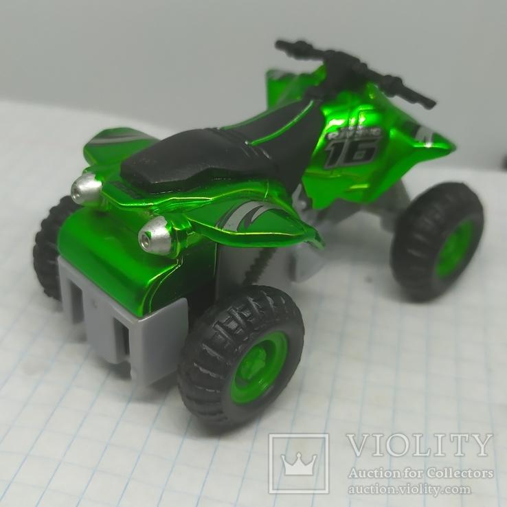 Машинка Квадроцикл Maisto, фото №7