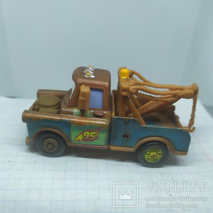 Машинка из мультфильма Disney. металл, фото №5