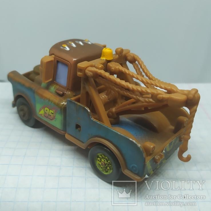 Машинка из мультфильма Disney. металл, фото №6