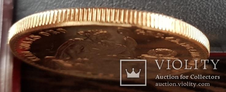 100 Перуанських Солей 1965р., золото 46,8г., фото №3