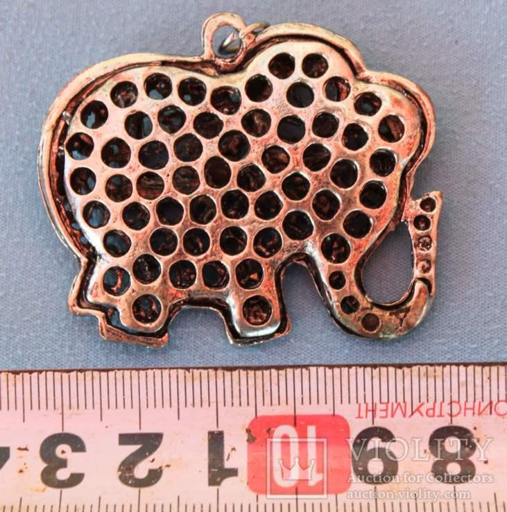 Слон бижутерия браслеты монеты, фото №5