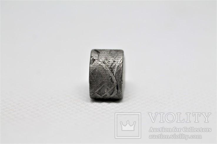 Залізній метеорит Muonionalusta, форма серця, 7,1 грам, сертифікат автентичності, фото №11