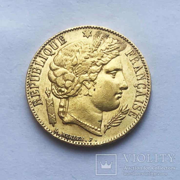 20 франков 1851 года., фото №3
